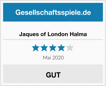 Jaques of London Halma Test