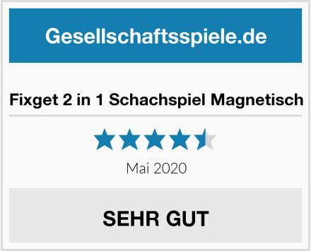 No Name Fixget 2 in 1 Schachspiel Magnetisch Test