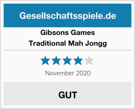 Gibsons Games Traditional Mah Jongg Test
