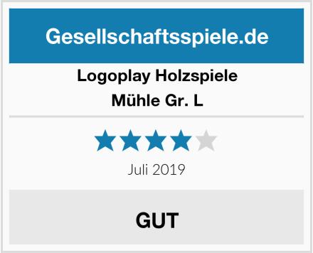 Logoplay Holzspiele Mühle Gr. L Test