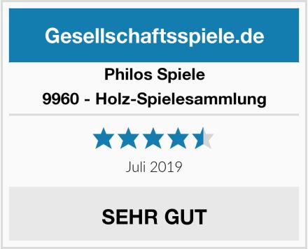 Philos Spiele 9960 - Holz-Spielesammlung Test