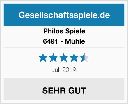 Philos Spiele 6491 - Mühle Test