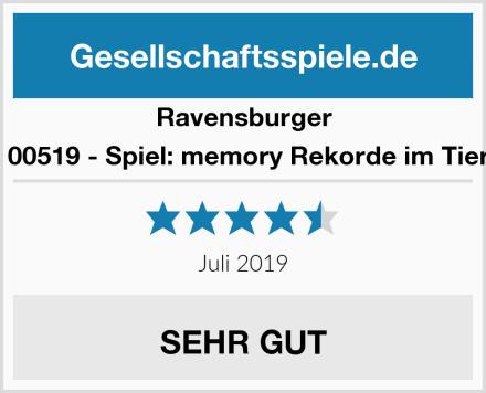 Ravensburger tiptoi 00519 - Spiel: memory Rekorde im Tierreich Test