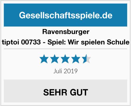 Ravensburger tiptoi 00733 - Spiel: Wir spielen Schule Test