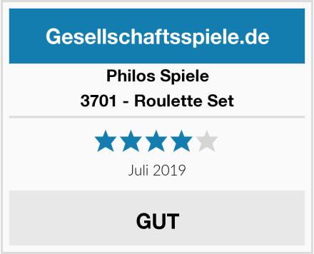 Philos Spiele 3701 - Roulette Set Test