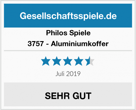 Philos Spiele 3757 - Aluminiumkoffer Test