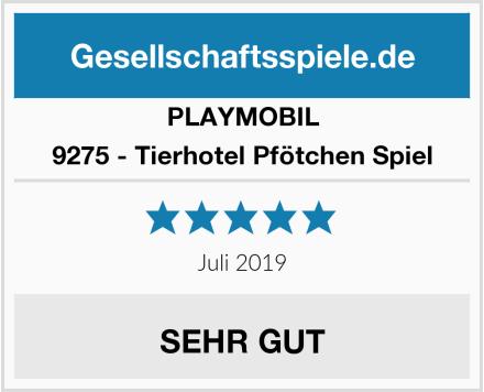 Playmobil 9275 - Tierhotel Pfötchen Spiel Test