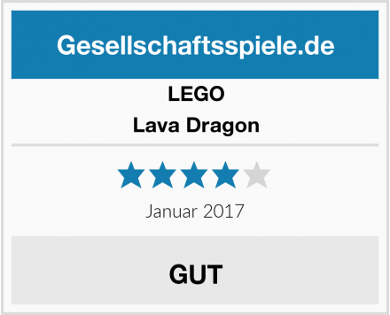 LEGO Lava Dragon Test
