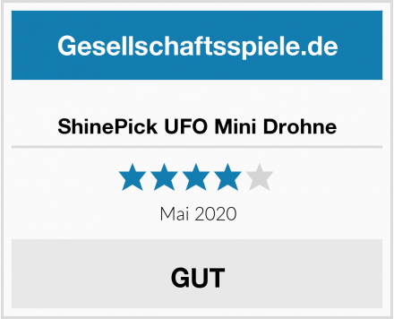 ShinePick UFO Mini Drohne Test