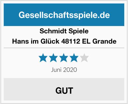 Schmidt Spiele Hans im Glück 48112 EL Grande Test