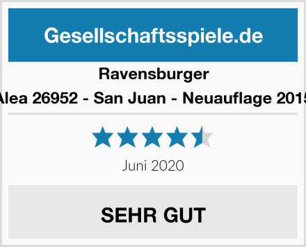 Ravensburger Alea 26952 - San Juan - Neuauflage 2015 Test