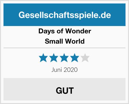 Days of Wonder Small World Test
