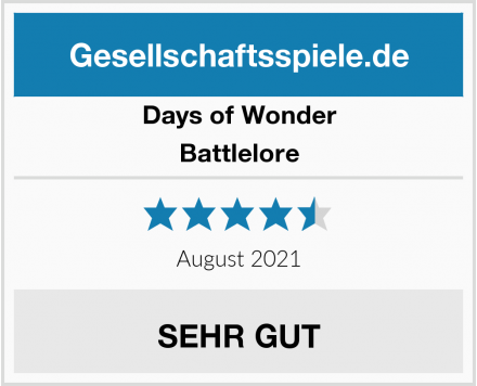 Days of Wonder Battlelore Test