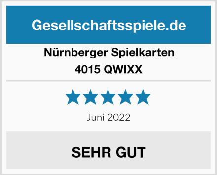 Nürnberger Spielkarten 4015 - QWIXX Test