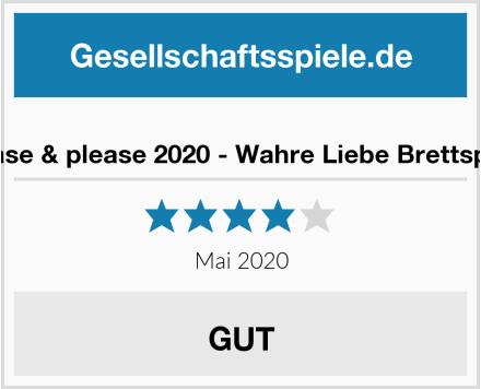 tease & please 2020 - Wahre Liebe Brettspiel Test