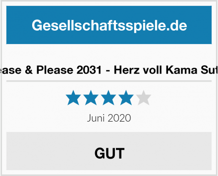 Tease & Please 2031 - Herz voll Kama Sutra Test