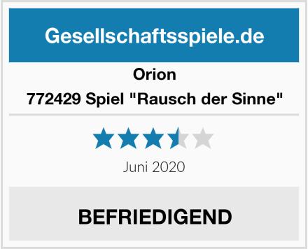 """Orion 772429 Spiel """"Rausch der Sinne"""" Test"""