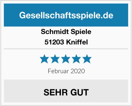 Schmidt Spiele 51203 Kniffel Test