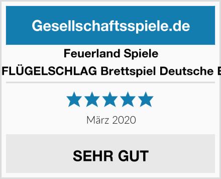 Feuerland Spiele 63558 FLÜGELSCHLAG Brettspiel Deutsche Edition Test
