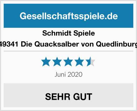 Schmidt Spiele 49341 Die Quacksalber von Quedlinburg Test