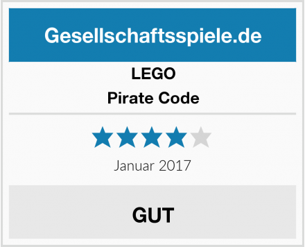 LEGO Pirate Code Test