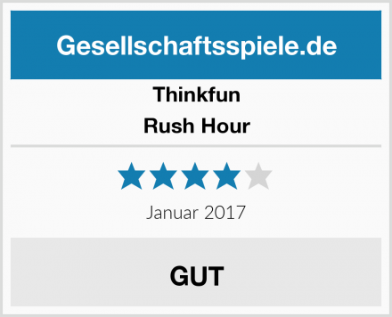 Thinkfun Rush Hour Test