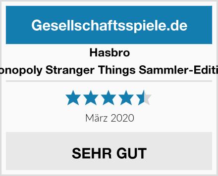 Hasbro Monopoly Stranger Things Sammler-Edition Test