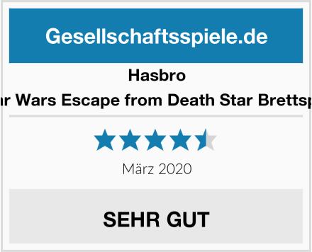 Hasbro Star Wars Escape from Death Star Brettspiel Test