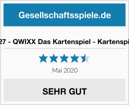 NSV - 4027 - QWIXX Das Kartenspiel - Kartenspiel & 4033 Test