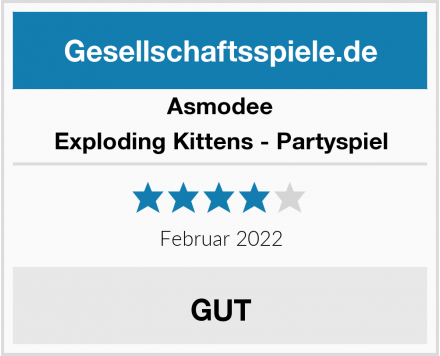 Asmodee Exploding Kittens - Partyspiel Test