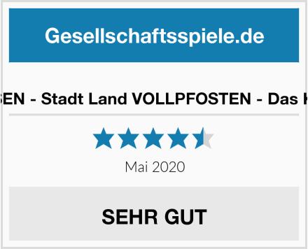 DENKRIESEN - Stadt Land VOLLPFOSTEN - Das Kartenspiel Test