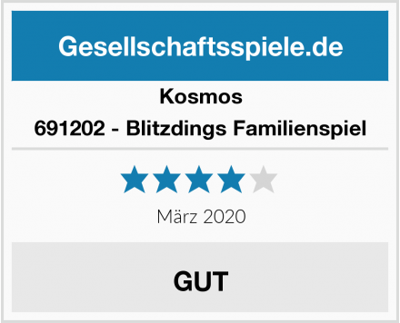 Kosmos 691202 - Blitzdings Familienspiel Test