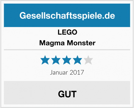 LEGO Magma Monster Test