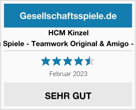 HCM Kinzel Adlung Spiele - Teamwork Original & Amigo - Wizard Test