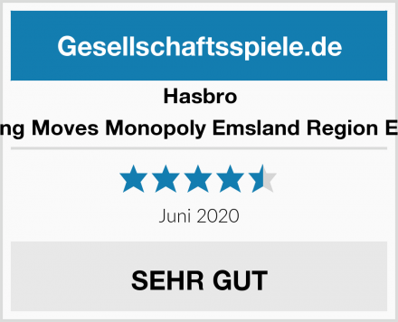 Hasbro Winning Moves Monopoly Emsland Region Edition Test