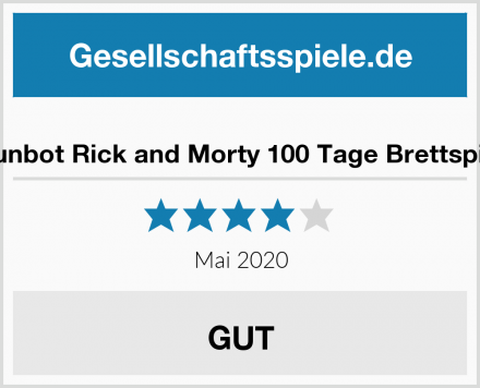 Funbot Rick and Morty 100 Tage Brettspiel Test