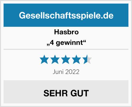 """Hasbro """"4 gewinnt"""" Test"""