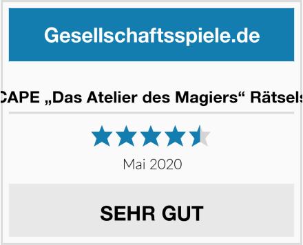 """X-SCAPE """"Das Atelier des Magiers"""" Rätselspiel Test"""