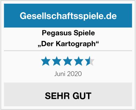 """Pegasus Spiele """"Der Kartograph"""" Test"""
