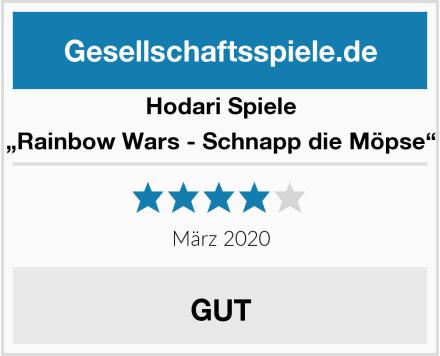 """Hodari Spiele """"Rainbow Wars - Schnapp die Möpse"""" Test"""