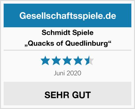 """Schmidt Spiele """"Quacks of Quedlinburg"""" Test"""