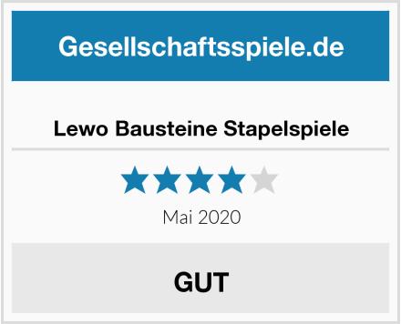 Lewo Bausteine Stapelspiele Test