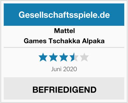 Mattel Games Tschakka Alpaka Test