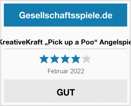 "KreativeKraft ""Pick up a Poo"" Angelspiel Test"