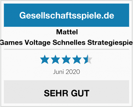 Mattel Games Voltage Schnelles Strategiespiel Test
