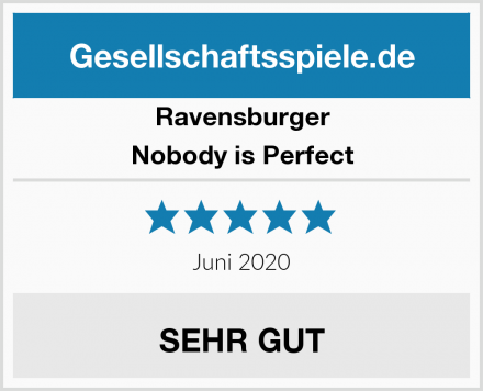 Ravensburger Nobody is Perfect Test