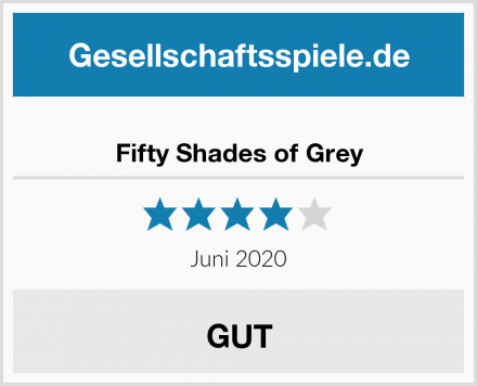 Fifty Shades of Grey Test
