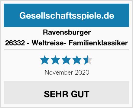 Ravensburger 26332 - Weltreise- Familienklassiker Test
