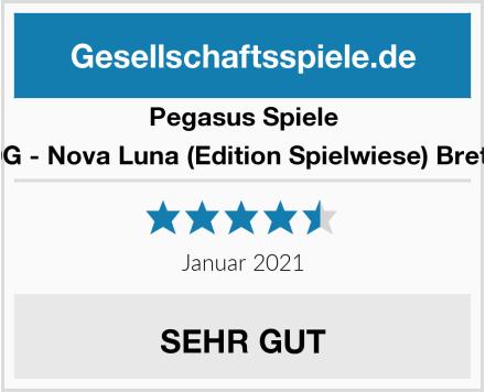 Pegasus Spiele 59050G - Nova Luna (Edition Spielwiese) Brettspiel Test