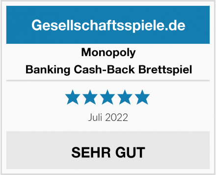 Monopoly Banking Cash-Back Brettspiel Test